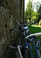 Bicycles near the Church of the Immaculate Conception of Blessed Virgin Mary in Idolta - panoramio.jpg