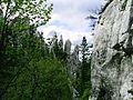 Bijele stijene - skalni veze zvane Prsty.jpg