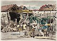 Billets in a Shelled Village across the Volturno River, Italy 1943 Art.IWMARTLD3762.jpg