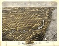 Bird's eye view of Michigan City, La Porte County, Indiana 1869. LOC 73693385.jpg