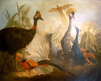 Jean-Jacques Bachelier - Image: Birds painting