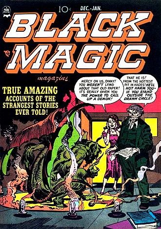 Crestwood Publications - Image: Black Magic No 08