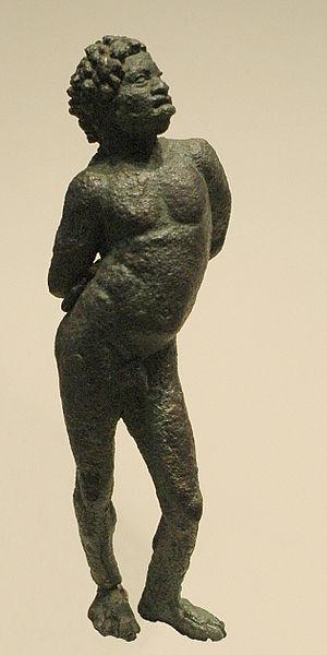 IMAGES DE L'ESCLAVAGE ET DE LA TRAITE NEGRIERE 300px-Black_slave_Louvre_Br361