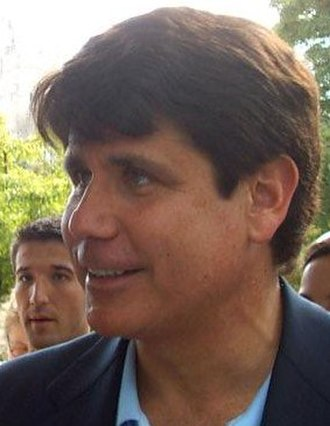 Rod Blagojevich - Blagojevich greets students at Illinois State University in 2006