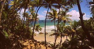 Blanchisseuse - Blanchisseuse Beach, Trinidad.