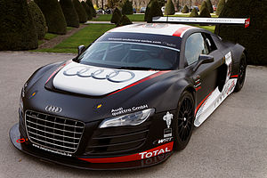 W Racing Team - An Audi R8 LMS from W Racing Team