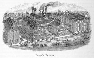Valentin Blatz - Image: Blatz Brewery 1886