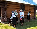 Blessing of the water during Transfiguration Feast in Spas village, Ukraine 06.jpg