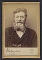 Bligny. André, Eugène. 58 ans, né à Vincennes. Serrurier. Anarchiste. Fiché le 2-3-94. MET DP290193.jpg