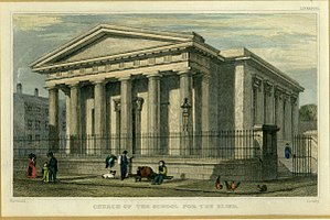Royal School for the Blind, Liverpool - Chapel of the Royal School for the Blind, Liverpool 1829