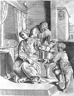 Bloodletting from the arm Wellcome L0008232.jpg