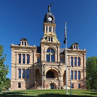 National Register of Historic Places listings in Blue Earth County, Minnesota - Image: Blue Earth County Courthouse