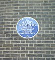 Blue Plaque, 13 Bedford Square - geograph.org.uk - 602909.jpg