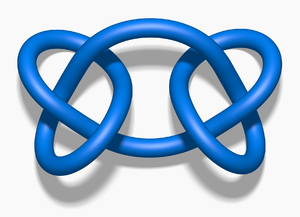 Square knot (mathematics) - Three-dimensional view