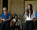 Blue Yonders connects with troops, children through music 131002-F-LK329-005.jpg
