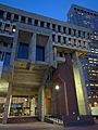Blue hour at Boston City Hall 03.jpg