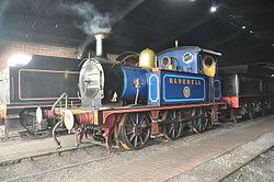 Bluebell in Sheffield Park locomotive shed (2365).jpg