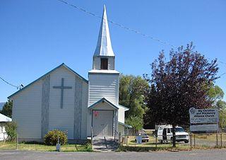 Bly, Oregon Unincorporated community in Oregon, United States