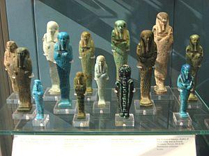 Ushabti - Ushabti in the British Museum in London