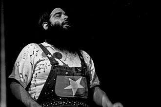 Bob Hite - Hite performing with Canned Heat, Hamburg, 1974