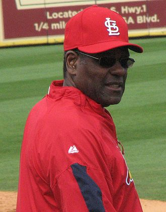 Bob Gibson - Gibson on the field with the Cardinals