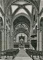 Bobbio interno della chiesa di San Colombano xilografia di Barberis.jpg