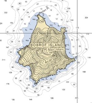 Bobrof Island - Nautical Chart of Bobrof Island