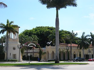 Addison Mizner - Administration Buildings, Mizner Development Corporation, Boca Raton, Florida (1925).