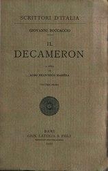 Giovanni Boccaccio: Decameron