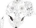 Boceto WikiTrofeo dia de muertos.jpg