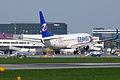 Boeing 737-8Q8 OK-TVG Travel Service (3469097327).jpg