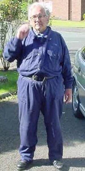 Boilersuit - Man in boilersuit