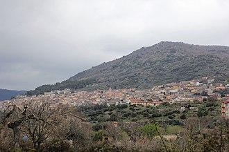 Bolotana - Image: Bolotana, panorama (01)