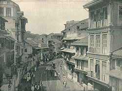 Kalbadevi Road - Glimpse of Mumbai circa 1890