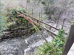 Bonnington Bridge, cast iron, River Clyde
