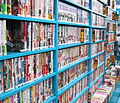 Bookshelves with manga in Tokio.jpg