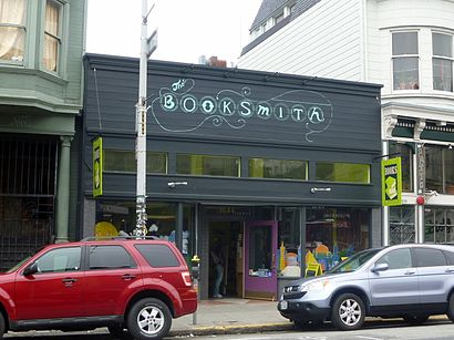 How to get to Booksmith with public transit - About the place