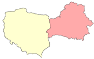 Borders of Poland and Belarus after August 1945