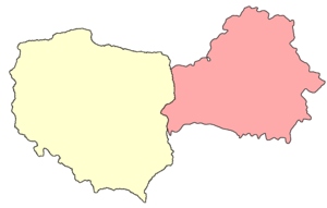 Polish–Soviet border agreement of August 1945 - Borders of Poland and Belarus after the agreement