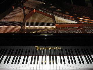 Bösendorfer Austrian piano manufacturer
