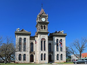 National Register of Historic Places listings in Bosque County, Texas - Image: Bosque County Courthouse 2