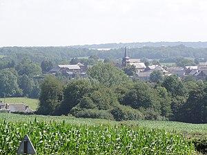 Bousignies-sur-Roc - Image: Bousignies sur Roc (Nord, Fr) vue du village