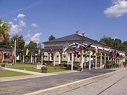 Depot during Raylrode Daze 2007