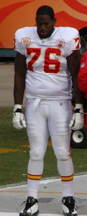 Branden Albert - Albert with the Chiefs in 2010
