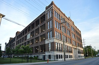 Standard Sanitary Manufacturing Company - The firm's brass finishing building in Louisville, Kentucky