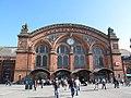 Bremen Hauptbahnhof, westliche Zugang (Bremen central station, western approach) - geo.hlipp.de - 28394.jpg