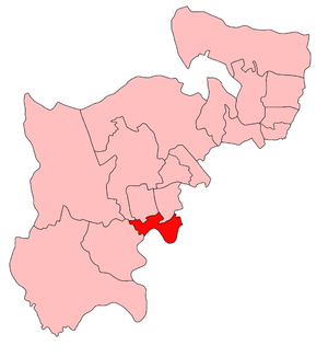 Brentford and Chiswick (UK Parliament constituency) - Brentford and Chiswick in Middlesex 1918-45