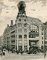 Breslau (Schlesien), Warenhaus Gebrüder Barasch, Architekt Georg Schneider, Breslau, Außenarchitektur (Quelle Theodor Fischer, Der Profanbau, 1905).jpg