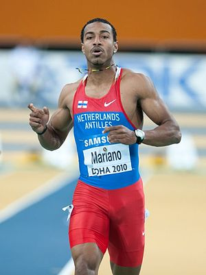 2010 IAAF World Indoor Championships – Men's 60 metres - Brian Mariano of the Netherlands Antilles was the fourth-fastest on day one.