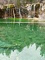 Bridal Veil Falls at Hanging Lake dyeclan.com - panoramio.jpg